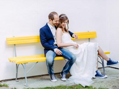 Corinne & Simon zum Thema Hochzeit